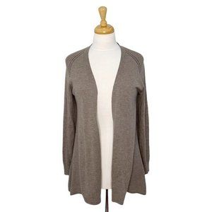 Marc Cain Open Front Cashmere & Silk Cardigan